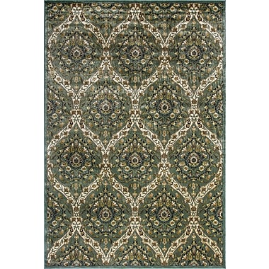Astoria Grand Newfoundland Blue/Green Area Rug; 3'3'' x 4'7''