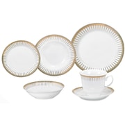 Astoria Grand Deakin 24 Piece Porcelain Dinnerware Set