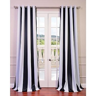 Astoria Grand Bailor Blackout Thermal Curtain Panels; 50'' W x 96'' L