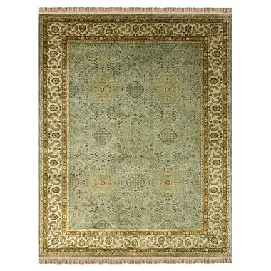 Astoria Grand Barcroft Ocean/Beige Area Rug; 8' x 11'