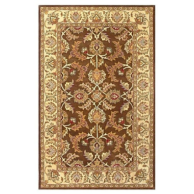 Astoria Grand Balthrop Brown/Ivory Rug; 8' x 10'