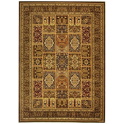 Astoria Grand Barton Green/Green Area Rug; 6' x 9'