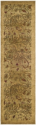 Astoria Grand Barton Beige Area Rug; Runner 2'3'' x 20'