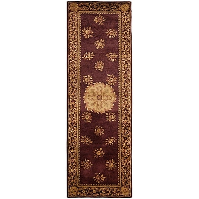 Astoria Grand Loren Burgundy Area Rug; Runner 2'6'' x 8'