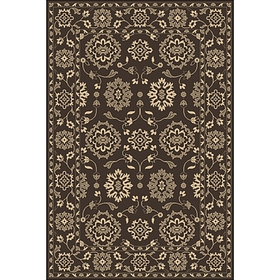 Astoria Grand Fulham Hand-Tufted Cream Area Rug; 2' x 3'