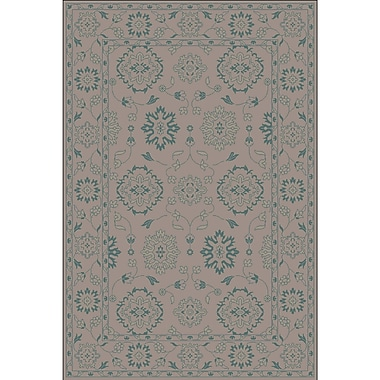 Astoria Grand Fulham Hand-Tufted Tan Area Rug; 4' x 6'