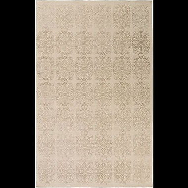 Astoria Grand Barret Hand-Woven Neutral Area Rug; 8' x 10'