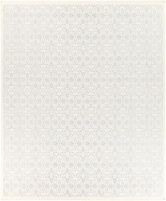 Astoria Grand Barret Sky Blue/Ivory Area Rug; Rectangle 8' x 10'