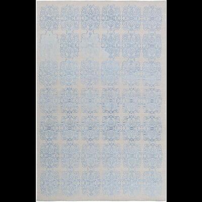 Astoria Grand Barren Blue Area Rug; Rectangle 5' x 7'6''