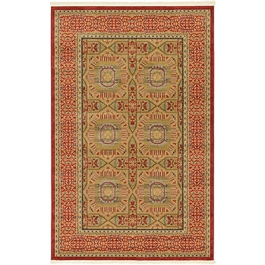 Astoria Grand Laurelwood Red Area Rug; 5' x 8'