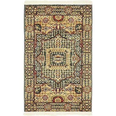 Astoria Grand Laurelwood Blue Area Rug; 2' x 3'