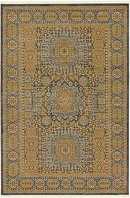 Astoria Grand Laurelwood Brown Area Rug; 6' x 9'