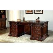 Astoria Grand Eastpointe Executive Desk in Cherry