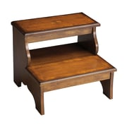 Astoria Grand Copley 2-Step Wood Step Stool w/ 85 lb. Load Capacity