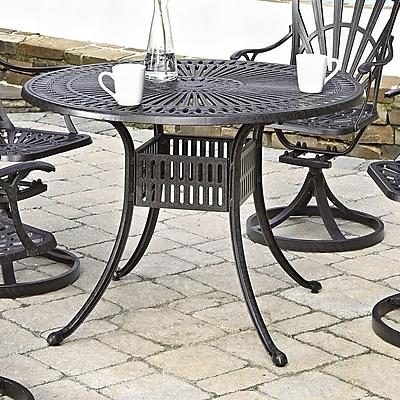 Astoria Grand Frontenac Dining Table; 42'' L x 42'' W