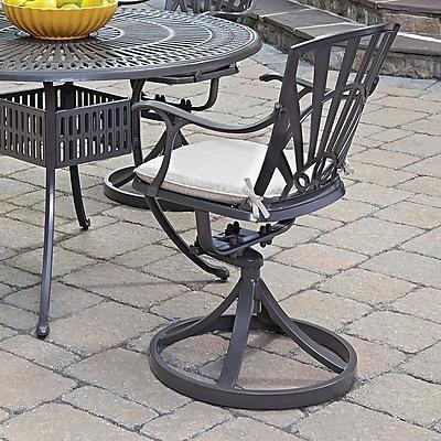 Astoria Grand Frontenac Patio Chair w/ Cushion
