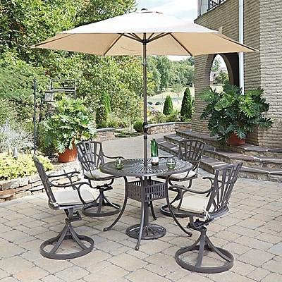 Astoria Grand Frontenac 7 Piece Dining Set w/ Cushions
