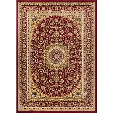 Astoria Grand Colindale Red Area Rug; 9'3'' x 12'6''