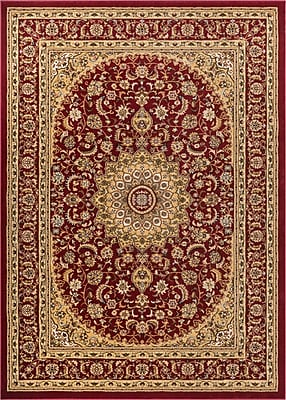 Astoria Grand Colindale Red Area Rug; 10'11'' x 15'