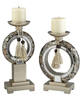 Astoria Grand 2 Piece Candle Holder Set