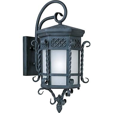 Astoria Grand Cutlerville 1-Light Outdoor Wall Lantern; 23.5'' H x 11.75'' W x 13.25'' D