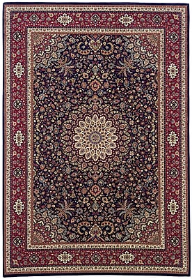 Astoria Grand Shelburne Traditional Brown/Red Area Rug; 5'3'' x 7'9''