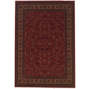 Astoria Grand Chivers Yellow/Crimson Area Rug; Octagon 7'10''