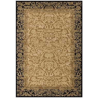 Astoria Grand Cipriani Gold Area Rug; 2' x 3'7''