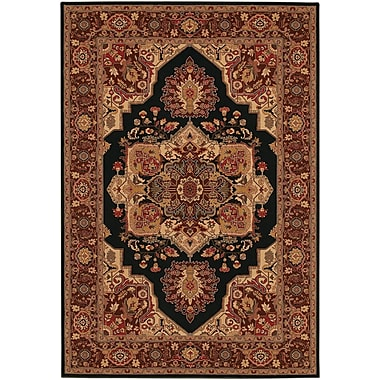 Astoria Grand Cipriani Red/Beige Area Rug; Runner 2'7'' x 7'10''