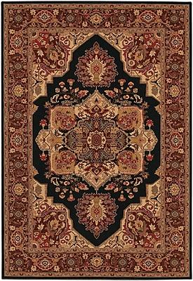 Astoria Grand Cipriani Red/Beige Area Rug; 5'3'' x 7'6''