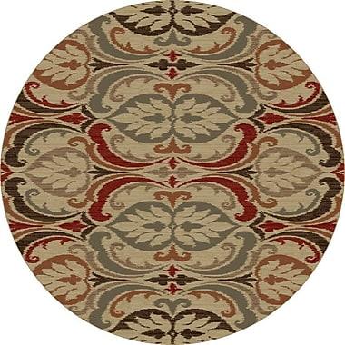 Astoria Grand Ikin Jewel Tone Firenze Rug; 1'9'' x 2'11''
