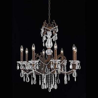 Astoria Grand Donat 8-Light Crystal Chandelier