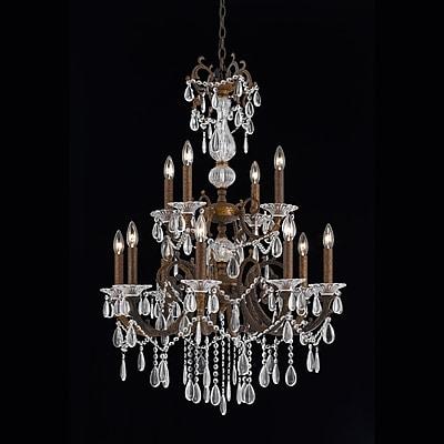 Astoria Grand Donat 12-Light Crystal Chandelier