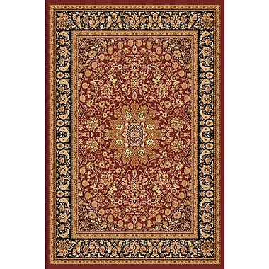 Astoria Grand Marian Red/Gold Area Rug; 3'3'' x 5'3''
