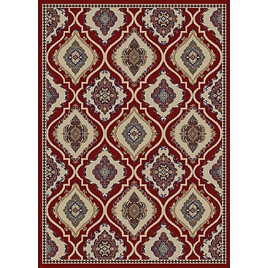 Astoria Grand Amanda Claret Area Rug; 8' x 10'