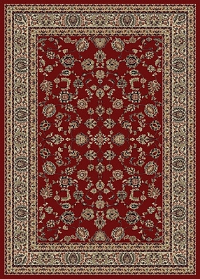 Astoria Grand Kiana Elegant Red Area Rug; 5' x 8'