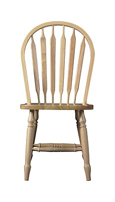 August Grove Audette Windsor Arrowback Side Chair; Unfinished