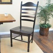 August Grove Eleanor Side Chair; Antique Black