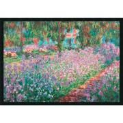 August Grove Le Jardin de Monet a Giverny by Claude Monet Framed Painting Print