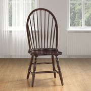 August Grove Camellia Windsor Chair; Espresso