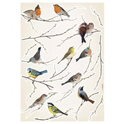 August Grove Erie Living Birds Wall Decal