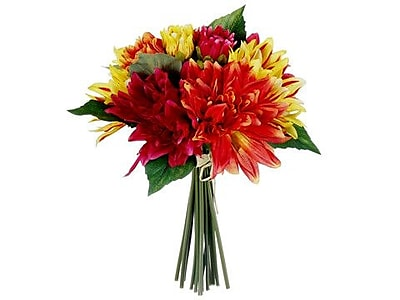 August Grove Glenburn Dahlia Bouquet