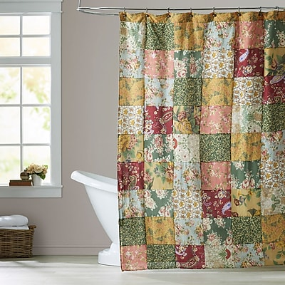 August Grove St. John Cotton Shower Curtain