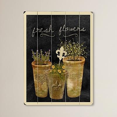 August Grove Rocklake Graphic Art Plaque; 16'' H x 12'' W x 0.75'' D
