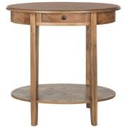 August Grove Monica End Table; Oak