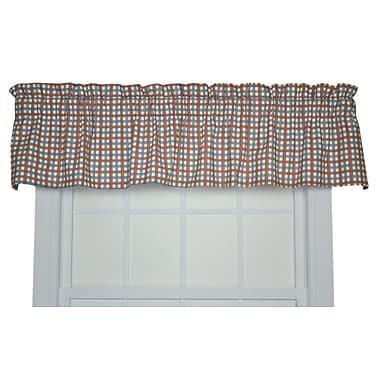 August Grove Gwyn Curtain 70'' Curtain Valance; Patriot