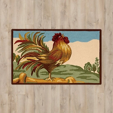 August Grove Stella Rooster Area Rug