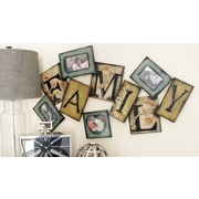 August Grove Rustic Metal Wall Picture Frame