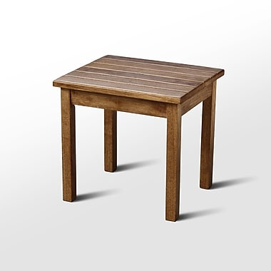 August Grove Franklin Springs Porch End Table; Maple