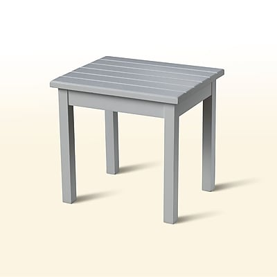 August Grove Franklin Springs Porch End Table; White
